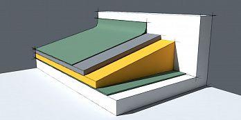 Устройство разуклонки из минеральной ваты