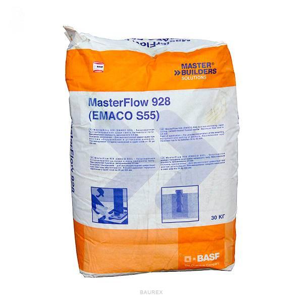 смесь бетонная basf masterflow 928